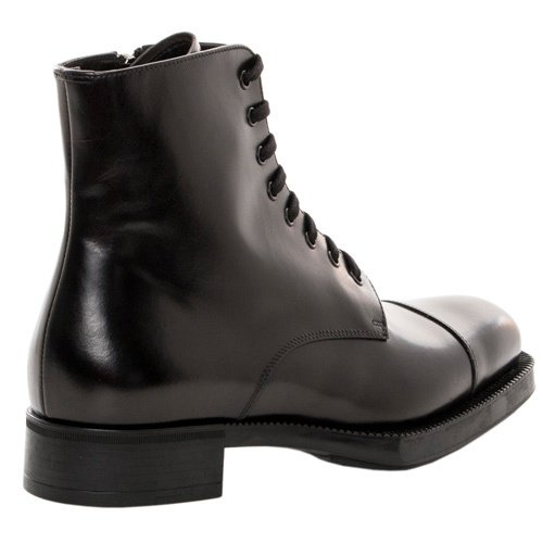 e8aedec5df9 Reviews: From Prada Women's Lace-up Ankle Combat Boots - Designer ...